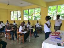 Premier regroupement des enseignants haïtiens (mars 2016) © IFADEM