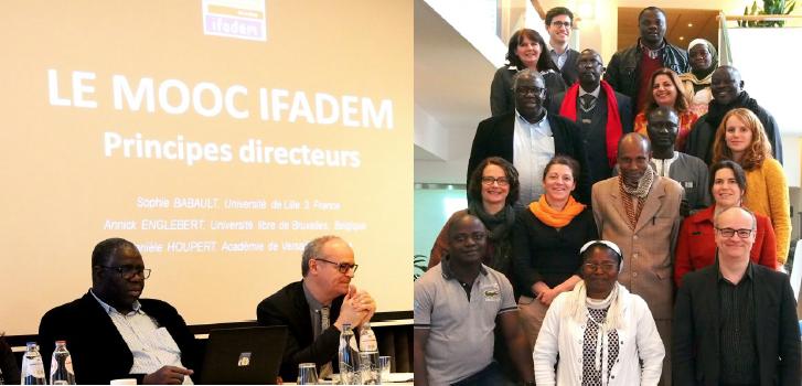 Atelier de co-construction du CLOM/MOOC IFADEM à Bruxelles © IFADEM