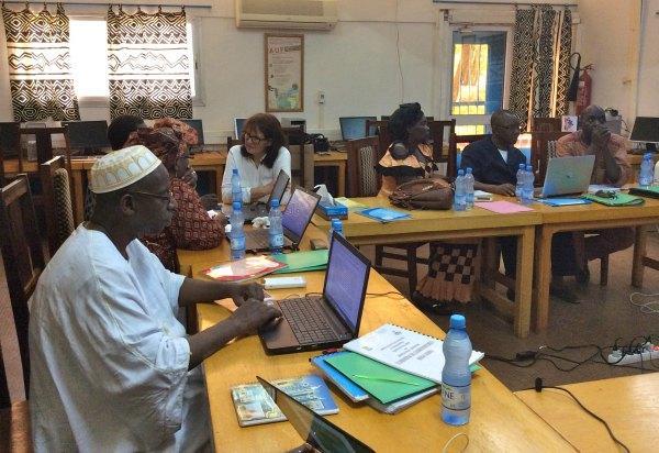 Atelier de conception d'un module de formation pour les directeurs au Mali ©IFADEM