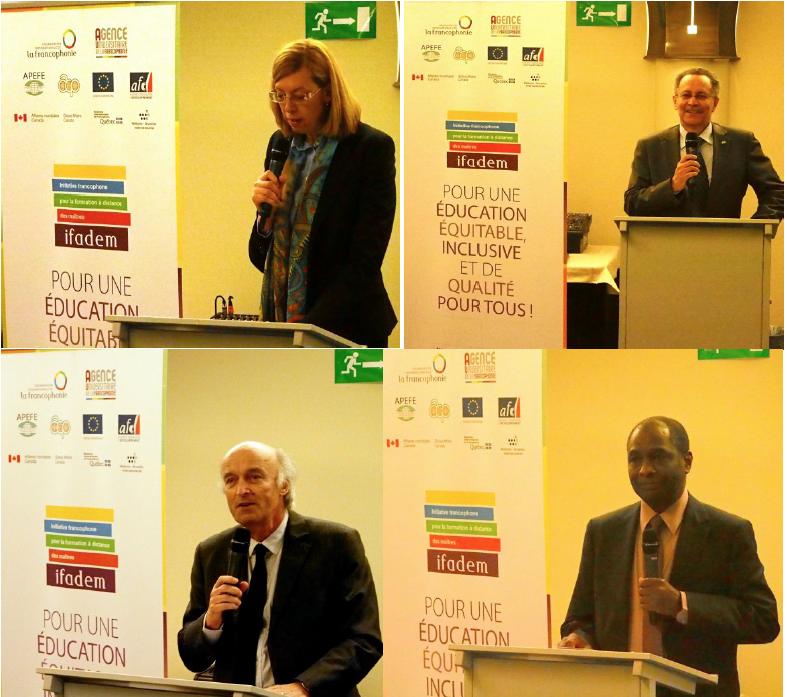 Lancement du partenariat avec l'Union Européenne - Groupe des Etats d'Afrique, des Caraïbes et du Pacifique © IFADEM