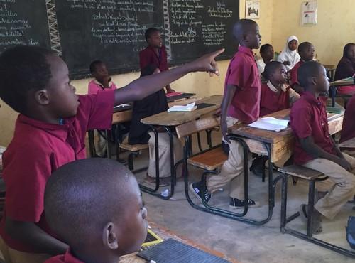 Visite de la SG de la Francophonie dans une école primaire au Niger ©Ado Youssouf/OIF