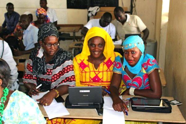1er regroupement des enseignants IFADEM Sénégal ©IFADEM