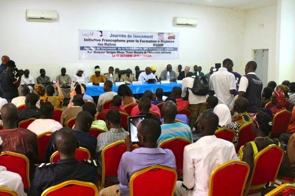 Lancement officiel de la formation IFADEM Sénégal ©IFADEM